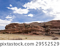red rocks amphitheater, red rocks park, sandstone 29552529