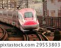 bullet train, shinkansen, omiya station 29553803