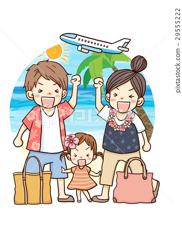 Family trip abroad 29555222