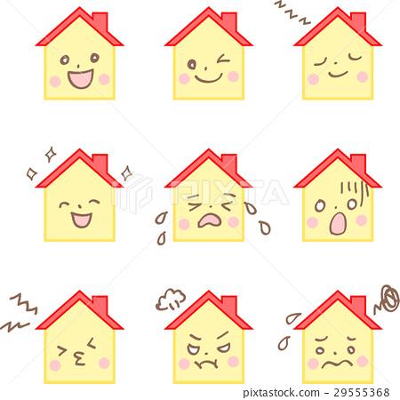 House facial expression set 29555368