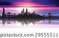 Vector of the New York skyline 29555511