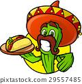 cactus mexican vector 29557485