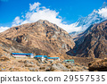 Machhapuchhre beautiful snow mountain  29557535