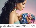 earring fashion woman 29558721
