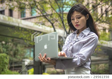 商務攝影 女強人使用筆電 29561350