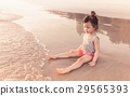 海灘 嬰兒 寶寶 29565393