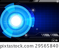 technology abstract vector 29565840