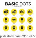 map icon vector 29565877