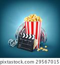 팝콘, 영화, 영화관 29567015