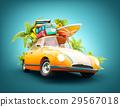 summer travel illustration 29567018