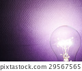 electricty concept of light bulb 29567565