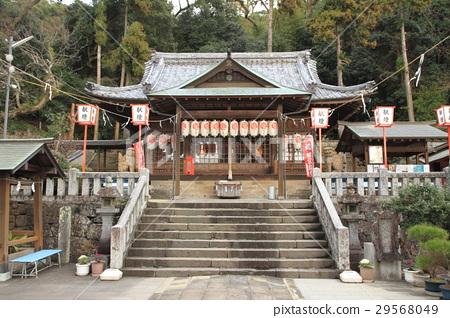 Nagasaki Yasaka Shrine Honten 29568049