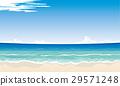 벡터, 해변, 모래사장 29571248
