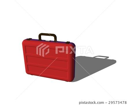 Suitcase. Isolated on white background. 29573478