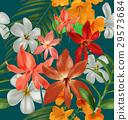 floral seamless pattern 29573684