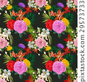floral seamless pattern 29573733