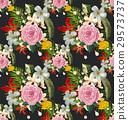 floral seamless pattern 29573737