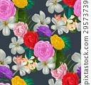 floral seamless pattern 29573739