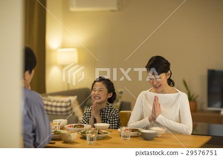 가족 저녁 식사 29576751