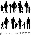 family, father, silhouette 29577583