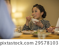 女孩晚饭 29578103