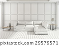 sofa, white, living 29579571