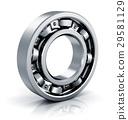 bearing, steel, metal 29581129