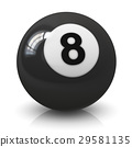 Eight billiard ball 29581135