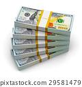 美元 100 纸币 29581479