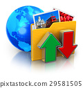 Internet and media technologies concept 29581505