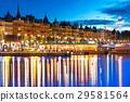 stockholm, sweden, evening 29581564