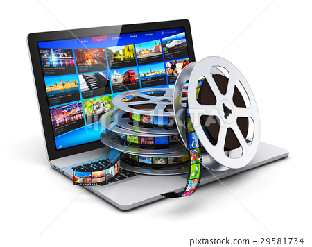 Digital video and mobile media concept 29581734