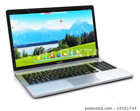 Modern laptop 29581744