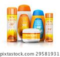 Set of sun care cosmetics 29581931