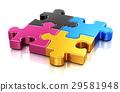 CMYK puzzle 29581948