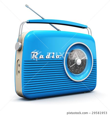 Old vintage radio 29581953