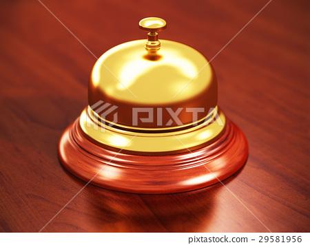 Hotel reception bell 29581956