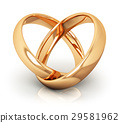 wedding rings gold 29581962