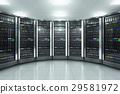 Server room in datacenter 29581972