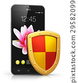 Mobile security and data protection concept 29582099