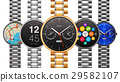 Collection of luxury smart watches 29582107