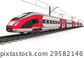 Modern high speed train 29582146
