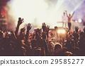 audience, festival, music 29585277