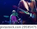 guitarist on stage - summer music festival 29585475