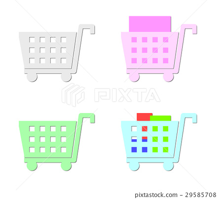 Shopping cart 29585708
