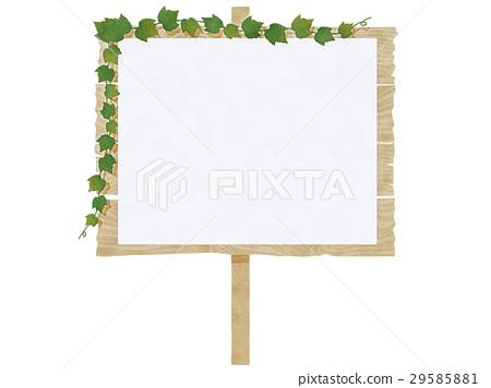 广告牌 告示牌 签字 29585881