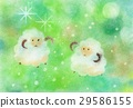 pastel, pastels, sheep 29586155