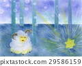 pastel, pastels, sheep 29586159