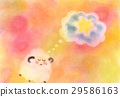 pastel, pastels, sheep 29586163