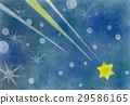 pastel, pastels, Shooting Star 29586165
